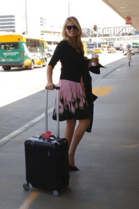 Kate Upton with Rimowa