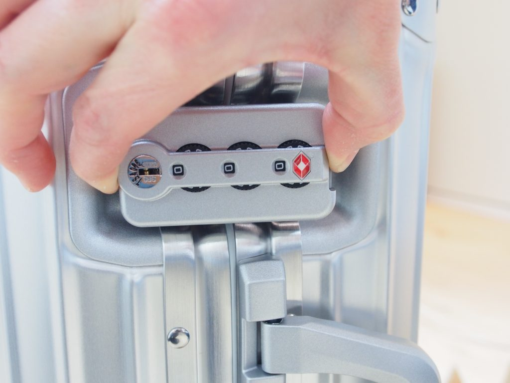 Rimowa TSA combination lock
