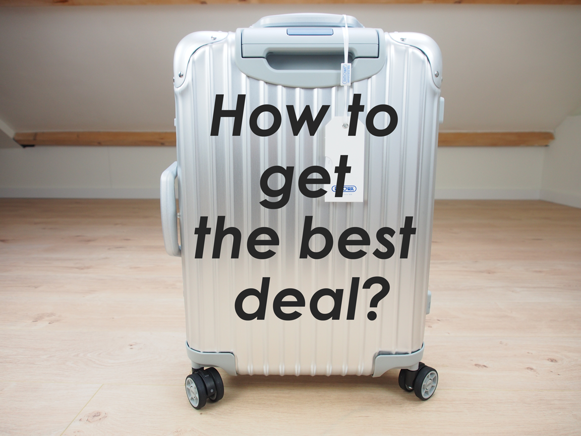 How to get the best deals on a Rimowa