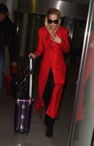 Rita Ora with Rimowa