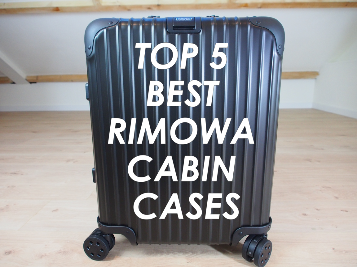top 5 best rimowa cabins