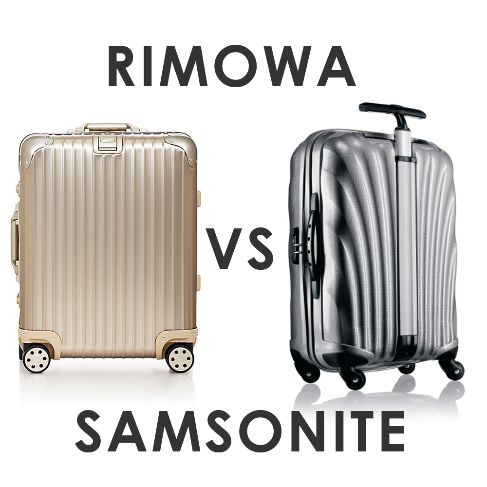 rimowa vs samsonite