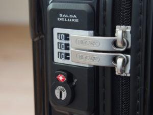 TSA-lock on Rimowa Salsa Deluxe