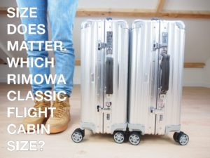 Size does matter: Which Rimowa Classic Flight Cabin Size?