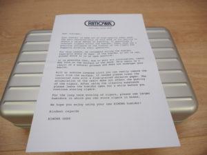 Rimowa Humidor letter