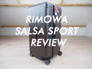 Rimowa Salsa Sport Review