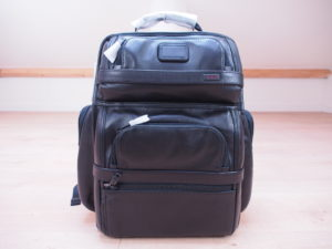 Tumi Alpha 2 backpack leather unboxing