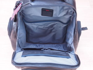 Tumi main compartment