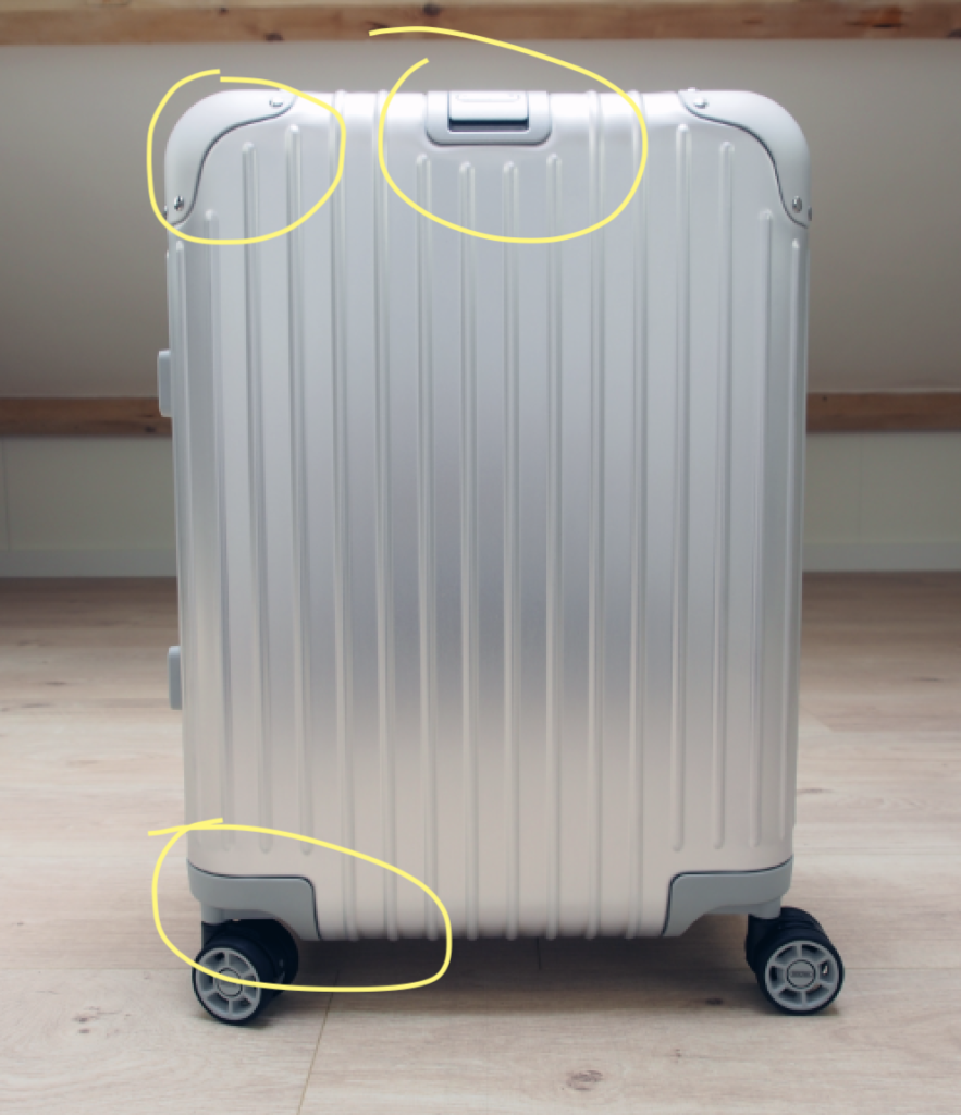 Rimowa facelift differences