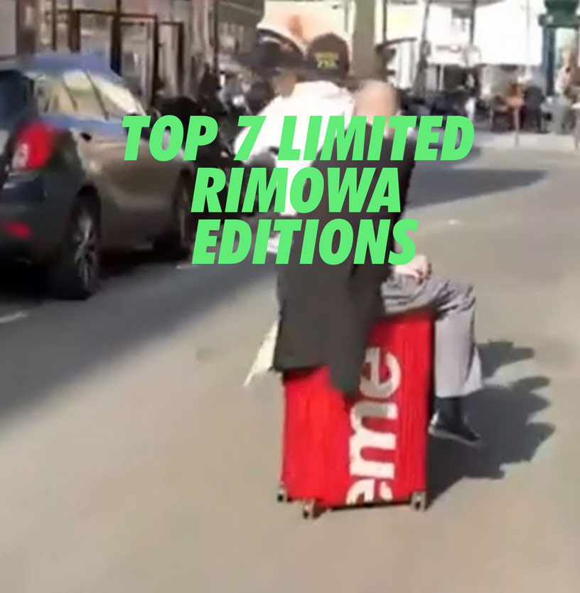 Top 7 Limited Rimowa Editions