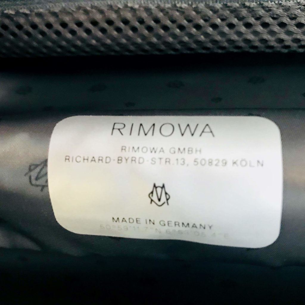 Rimowa Original Cabin S Made in Germany