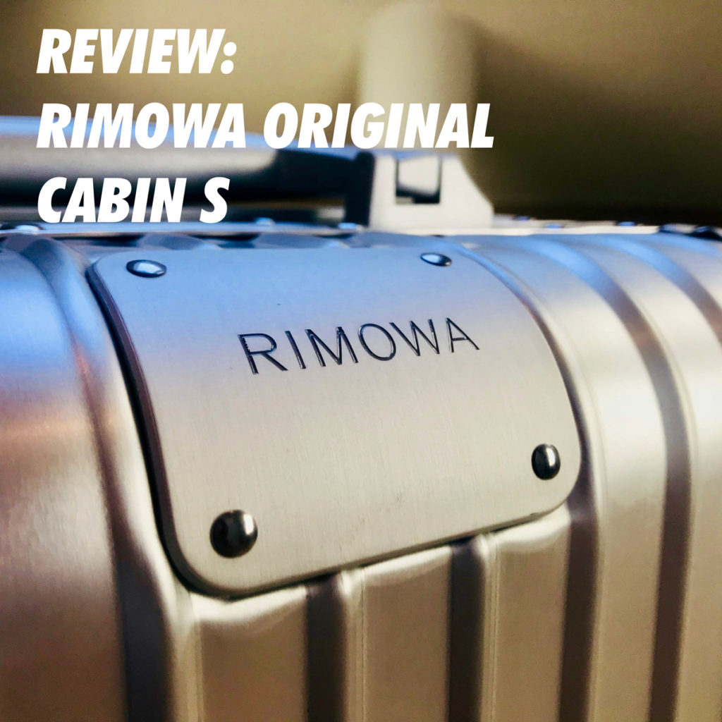 Review Rimowa Original Cabin S