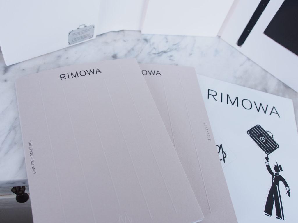 Rimowa Original Documents