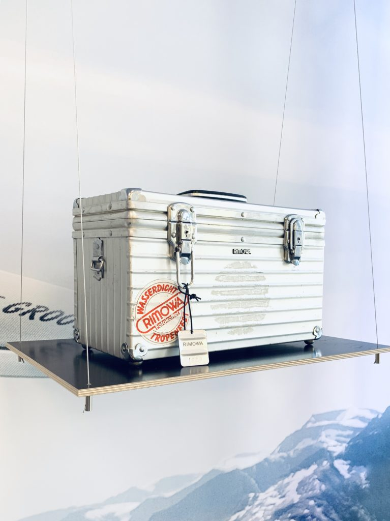 Rimowa vintage luggage