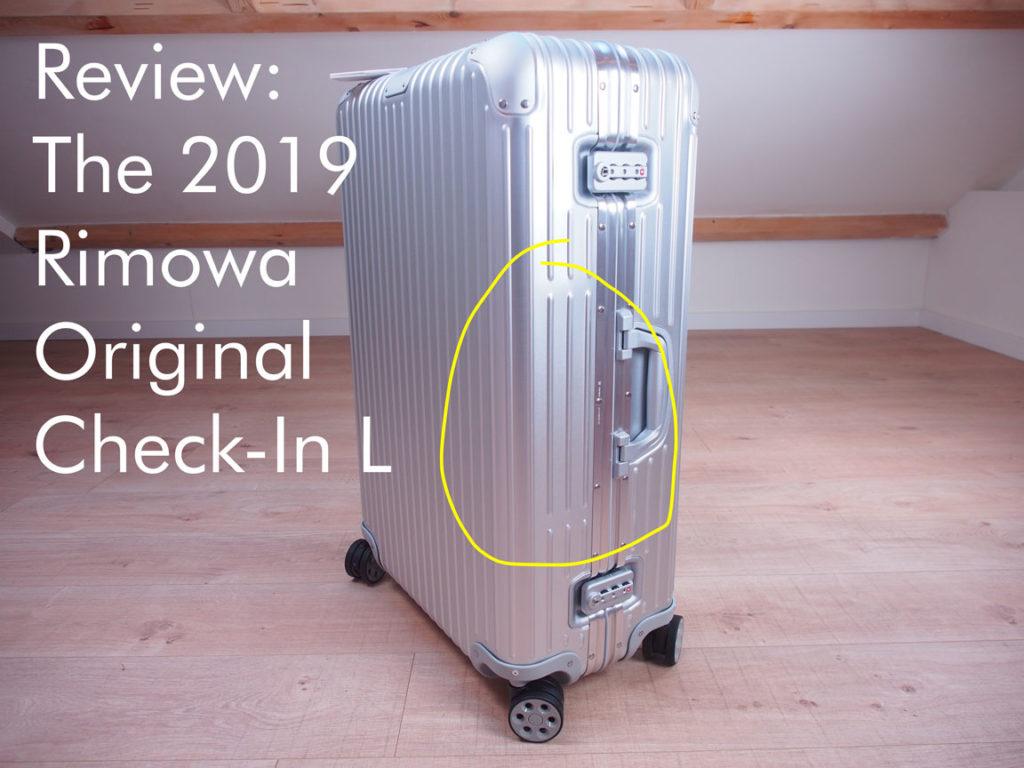 Review: The 2019 Rimowa Original Check-In L