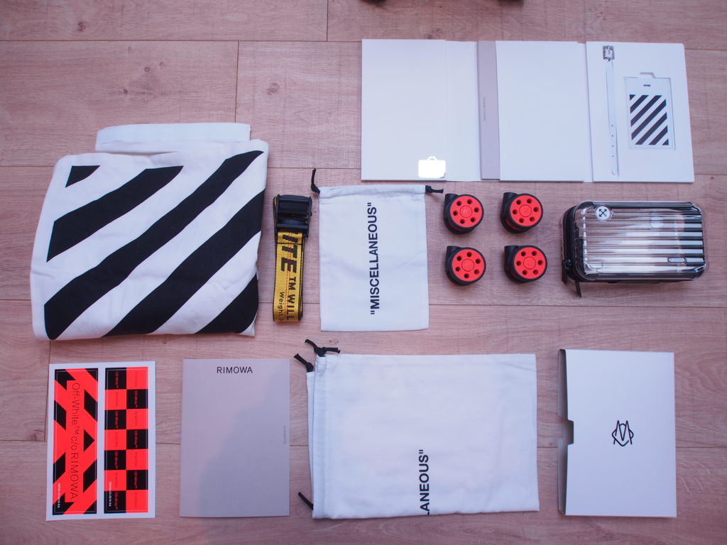 Rimowa x Off-White accessories