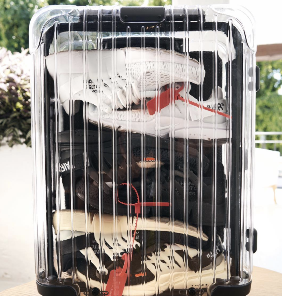 Packed Rimowa x Off-White courtesy off anilarjandas