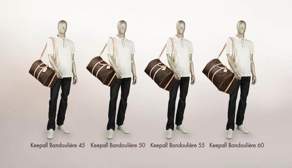 Louis Vuitton Keepall Sizes