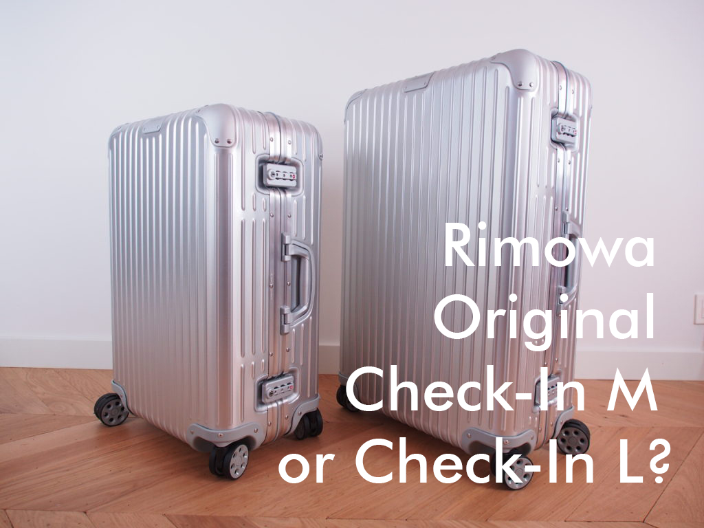 Rimowa Original Check-In M or Check-In L